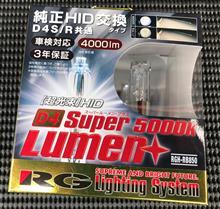 RACING GEAR SUPER LUMEN+ 5000K D4S/R RGH-RB850