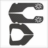 不明 Honda アコード 3Dカーボンシートキックガード