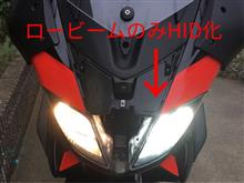 SRMAX300HID屋 1灯バイク用 35W HID コンバージョンキット(H7, 6000K)の全体画像