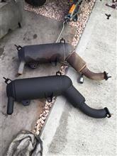 ジャイロキャノピーケイエヌ企画(KN Kikaku) ノーマルタイプマフラー チャンバーの単体画像