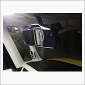 CAR MATE / カーメイト ホンダ専用リヤビューミラー ルームミラー 3000SR クローム鏡 NZ580