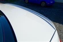 3シリーズ セダン謎 M3タイプ リアトランクスポイラーの全体画像