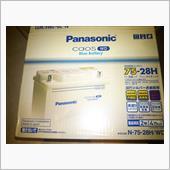 Panasonic Blue Battery caos WD 75-28H