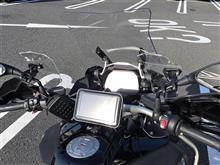 R1200GS アドベンチャー自作 スポイラーの全体画像