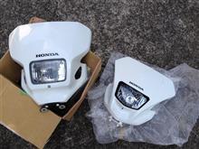 XR250 MD30ホンダ(純正) XR250最終型ヘッドライトユニットの単体画像