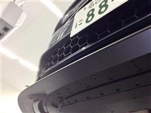 S60Polestar Carbon Front Splitterの全体画像