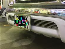 ハイラックススポーツピックアップAPS Auto Parts BILLET GRILL INSERTの全体画像