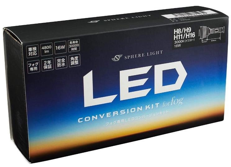 Sphere Light LEDバルブ  H8/11