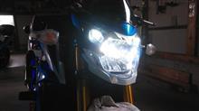 GSR750ABSPIAA 二輪用LEDヘッドライト車検対応の全体画像