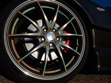RX-8RAYS VOLK RACING G25 PRISM COLORの単体画像