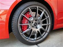 RS3 スポーツバックRAYS VOLK RACING VOLK RACING G12の単体画像