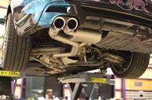 1シリーズ クーペKpipe バルブトロニックF1スポーツマフラーの全体画像