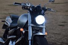 デスペラード400XSphere Light バイク用LEDヘッドライト RIZINGⅡ H4 Hi/Lo 6000Kの単体画像