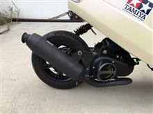 アプリオDAYTONA(バイク) スポーツマフラーの単体画像