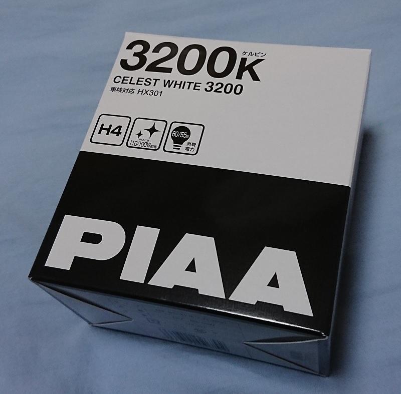 PIAA CELEST WHITE 3200