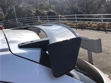 デミオOdula / OVER DRIVE リアウイングGT カーボンの全体画像