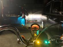 ジャズ(バイク)中華 ハーレー風5.75インチヘッドライトの全体画像