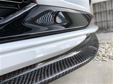 RS3(セダン)ADD PERFORMANCE フロントリップ カーボンの全体画像