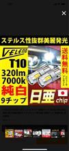 REIZ TRADING T10 日亜チップ 9CHIP LED
