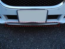 XEジャガー(純正) フロントスプリッターブレードキット -クロームの単体画像