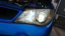 インプレッサ スポーツワゴン WRXPIAA PIAA HB3 ストラトスブルー 5000Kの全体画像
