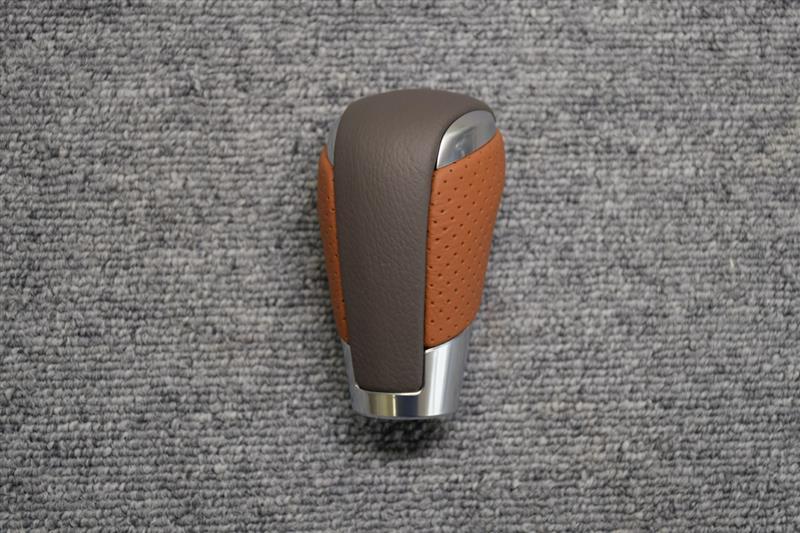 Leather Custom FIRST アテンザ純正シフトノブ革巻き加工
