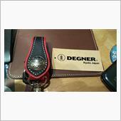 DENGER キーホルダー(ブラック/レッド) K-18-BKRD