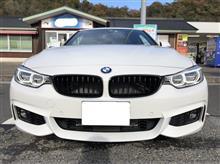 4シリーズ クーペBMW(純正) BMW Performance ブラックキドニーグリルの単体画像