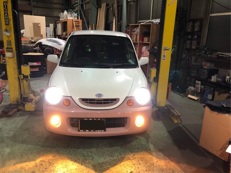 社外 H4 LEDヘッドライト