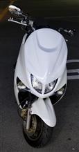 マジェスティ125不明 フロントマスクの単体画像