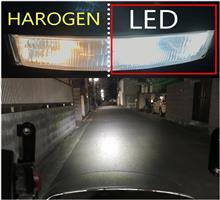 リード90RTD バイク用LEDヘッドライト30W (H4 H6 PH7 PH8対応 )の単体画像