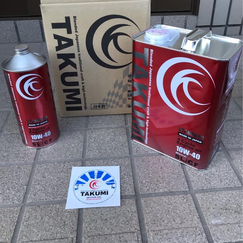 TAKUMIモーターオイル/AKTジャパン STANDARD 10W-40