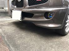 R1スバル(純正) フロントバンパースカートの単体画像