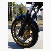 MOTO INKZ バイク用17インチフルカスタムリムステッカーGP2 B-85-GOLD