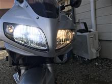 SV650SNIGHTEYE LEDヘッドライトH4の全体画像