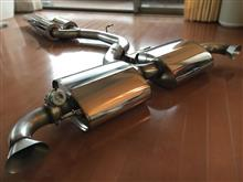 TT RSScorpion Exhausts Cat Back Exhaust Systemの全体画像