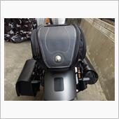 ノーブランド Waterproof Fiber leather Motorcycle Top Case Rear Back Seat Travel Bag Universal