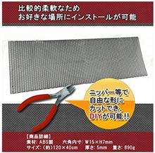 GLAクラスメーカー不明 ABS樹脂 ハニカムメッシュグリルネットの単体画像