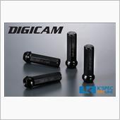 K'spec DIGICAM クロモリレーシングナット 4本セット 7角袋タイプ 70mm