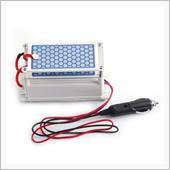 Hilitand 12v 10g / h車のポータブルオゾンジェネレータセラミックプレートオゾナイザー空気滅菌エアオゾンセラミックプレート清浄器