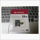 Transcend  高耐久microSDHCカード 32GB TS32GUSDHC10V