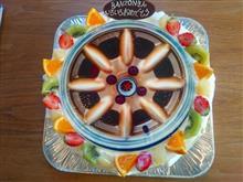 エッセ自作 パナスポーツ・ホイールケーキ(タイチョーさんオーダー、アトリエNOBUYA製)の単体画像