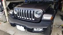 ラングラー不明 2018+New+Jeep+Wrangler+JL+Hood+Air+Deflector+Bug+Shield+Guard+Mopar+OEMの単体画像