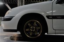 サクソRAYS VOLK RACING TE37の全体画像