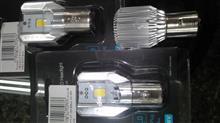 ドラッグスター180Reontiger Motorcycle LED Headlight Hi/Lo :H4BSの単体画像