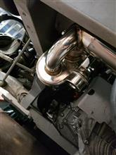 458イタリアiPE / Innotech performance exhaust iPE 可変バルブ マフラーの全体画像