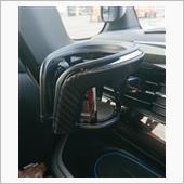 CAR MATE / カーメイト カップホルダー クワトロ X カーボン調 ブラックメッキ / DZ373