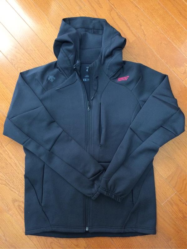 STI フーデッドジャケット(ブラック)