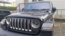 ラングラーMOPAR   2018 New Jeep Wrangler JL Hood Air Deflector Bug Shield Guard Moparの単体画像