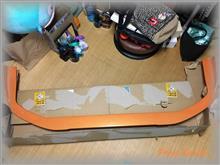 ステップワゴンBODY SHOP ガレージ今中 無限エアロ用アロント・リップの単体画像